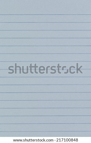 blue notebook texture or background - stock photo