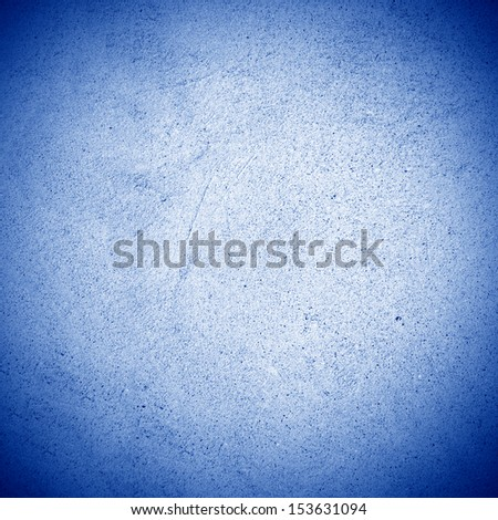 blue old grunge concrete wall