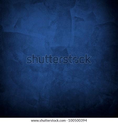 blue paint - stock photo