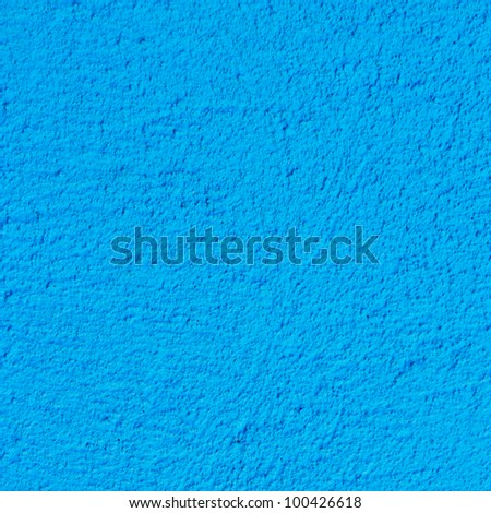 blue painted wall texture square background - stock photo