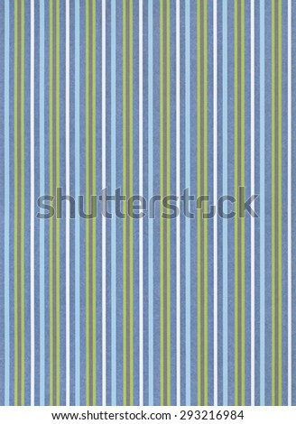 Blue paper background with striped pattern - stock photo