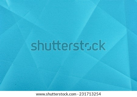 Blue paper surface - stock photo