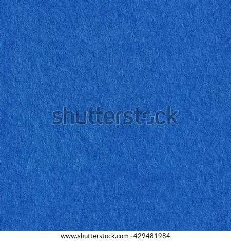 Blue paper texture. Seamless square texture. Tile ready. - stock photo