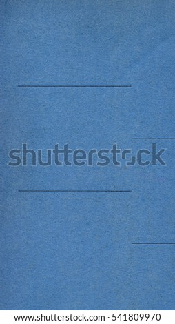 Blue paper texture useful as a background - vertical