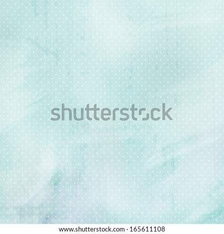 blue pastel background with dots - stock photo