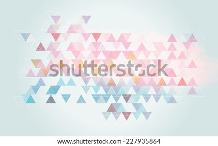 blue pink soft background retro style - stock photo