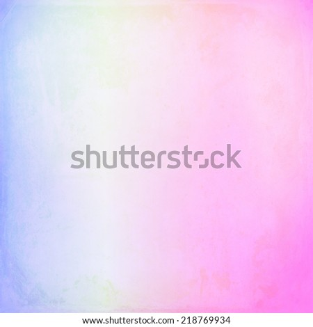 blue pink watercolor background - stock photo