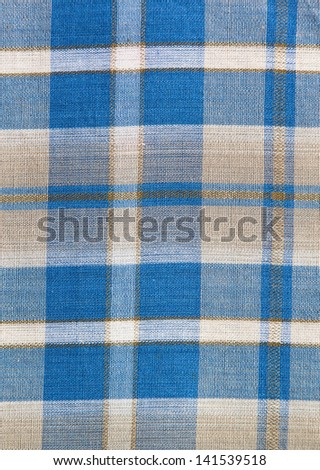 blue plaid pattern for background