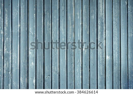 Blue Planks Background./ Blue Planks Background