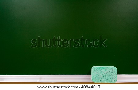 blue porous material - stock photo