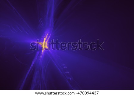 blue purple glow energy wave. lighting effect abstract background.