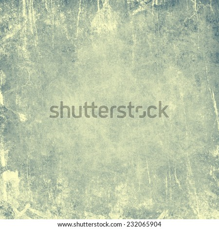 blue retro background with texture of old paper - stock photo