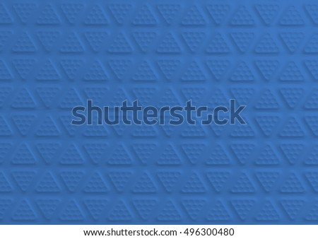 Blue Rubber Floor Tiles For Texture And Background