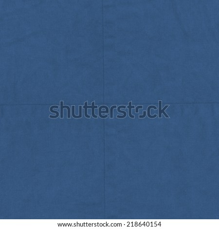 blue sackcloth texture, seams