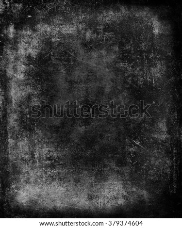 Blue scratched abstract grunge texture background, dark wall, halloween background