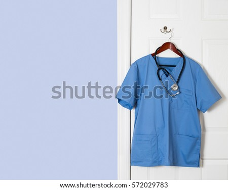 Doctor Coat Hanging Stock Images RoyaltyFree Images  Vectors