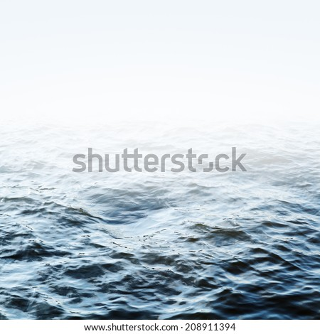 Blue sea ripples. Could be used as a background texture pattern
