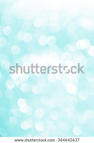 blue shiny bokeh abstract background