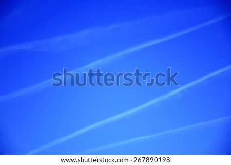 blue sky, abstract background - stock photo