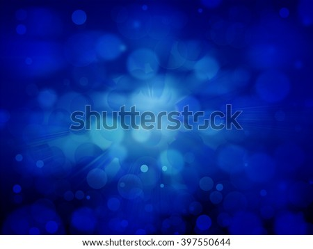 Blue sky and circles background
