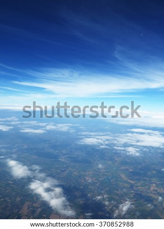 Blue Sky and Clouds 7