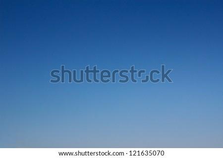 Blue sky background. - stock photo