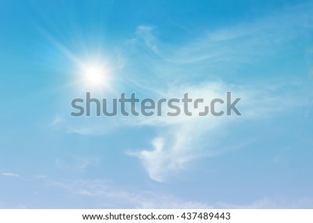 blue sky background with tiny clouds.Beautiful white clouds with blue sky on the sunny bright day in summer.nature,pattern,clear,air,view,plain,outdoors,space.