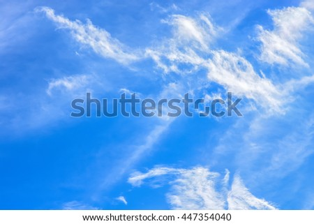 blue sky background with tiny clouds,Sky clouds,blue sky with cloud.