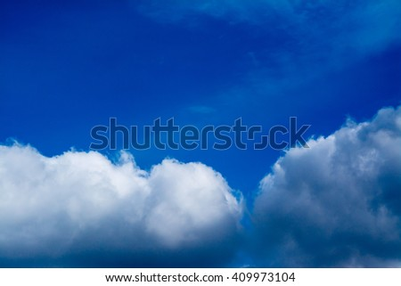 blue sky sunrise with clouds background