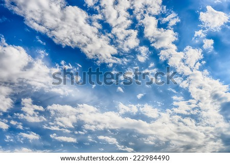 Blue sky clouds background hdr image stock photo image royalty blue sky with clouds background hdr image thecheapjerseys Gallery