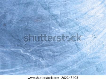blue slightly blurred background - stock photo