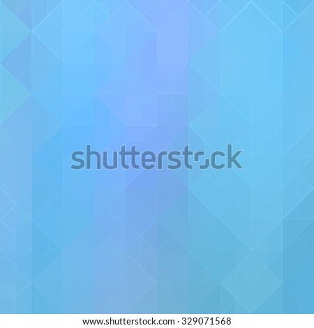 blue square background - stock photo