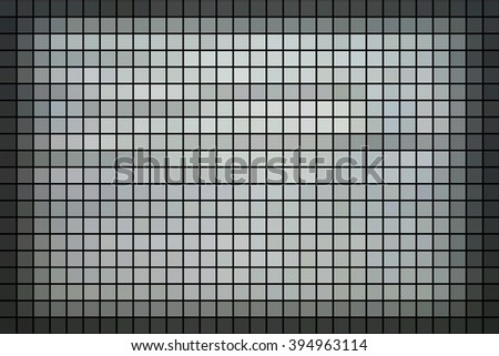 Blue square tiles for texture or background