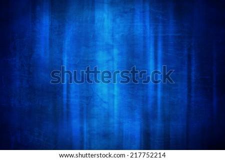 blue stripe line on concrete texture background - stock photo