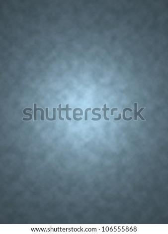 Blue studio background - stock photo