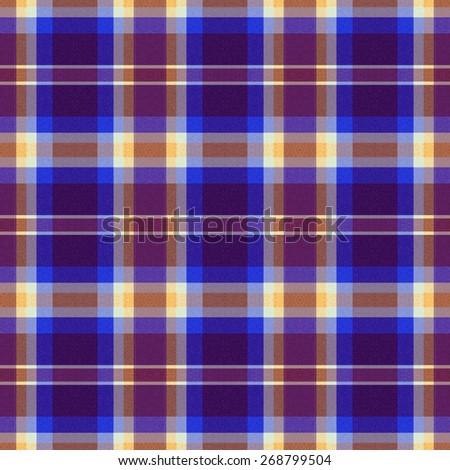 blue Tartan textile seamless background  - stock photo