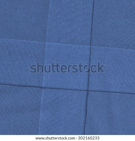 blue textile texture as background