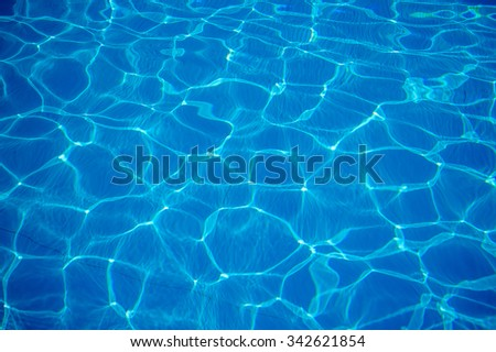 Water Swimming Pool Seamless Caustic Texture Stock Illustration