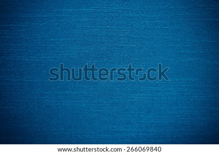 Blue Thai silk texture use as background - stock photo