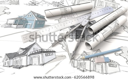 Architectural Planning Architectural House Drawings Blueprints