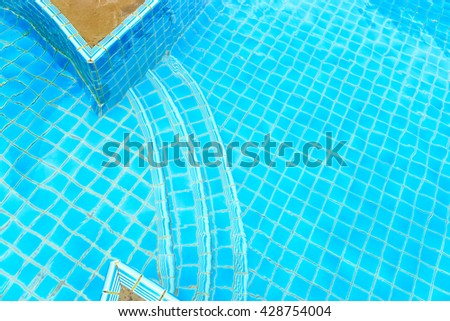 Swimming Pool Lane Lines Background blue color plastic swimming pool lane stock photo 382133236