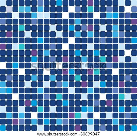 blue tone retro background. vector illustration. raster version - stock photo