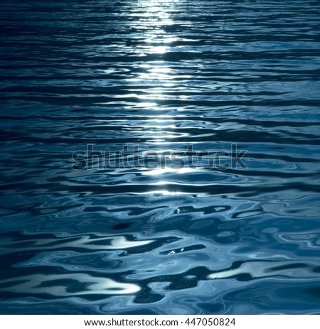 Blue, turquoise, wavy water background