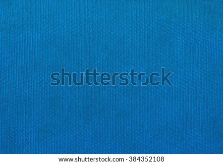 blue velvet fabric texture, red, for backgrounds and textures - stock photo