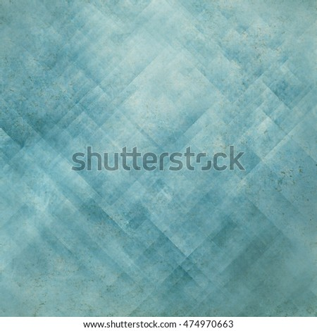 Blue vintage background, abstract grunge texture canvas