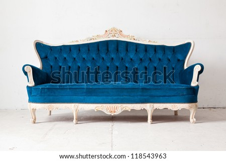 Antique Couch Stock Images RoyaltyFree Images Vectors