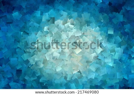 Blue Vortex Abstract - stock photo