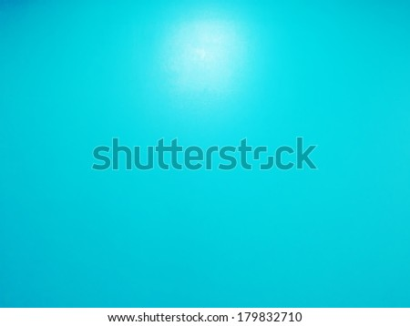 Blue wall - stock photo