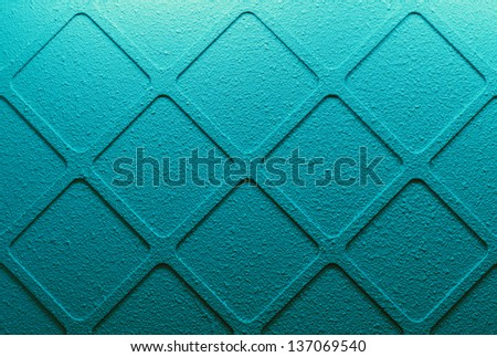 blue wall background texture - stock photo
