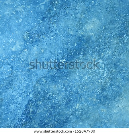 blue wall old cement background - stock photo